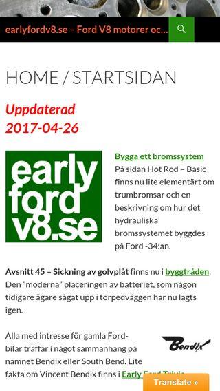 Mobile preview of earlyfordv8.se