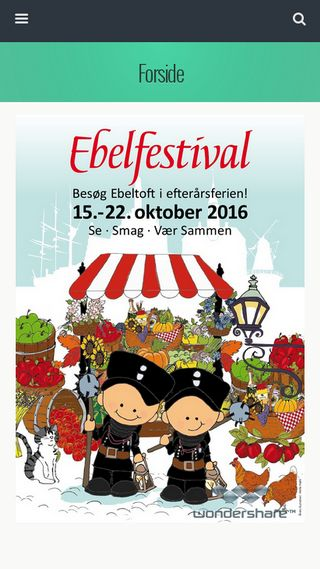 Mobile preview of ebelfestival.dk