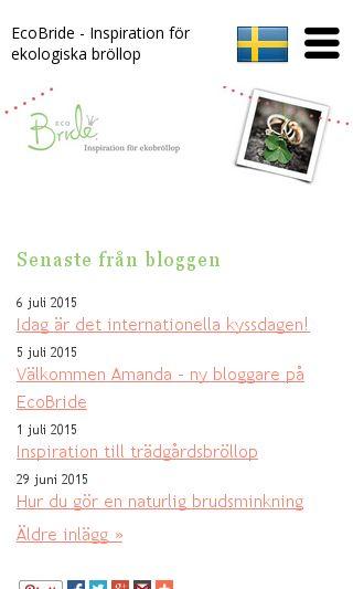 Mobile preview of ekologiskmatonline.se