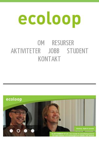 Mobile preview of ecoloop.se