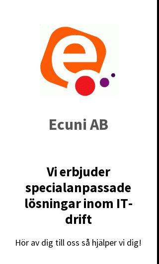 Mobile preview of ecuni.se