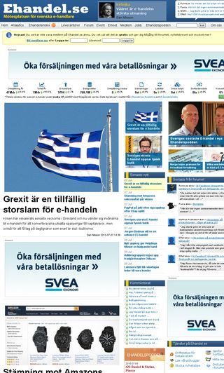 Mobile preview of ehandel.se