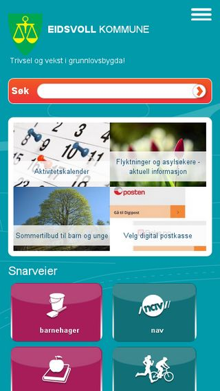 Mobile preview of eidsvoll.kommune.no