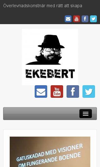 Mobile preview of ekebert.se