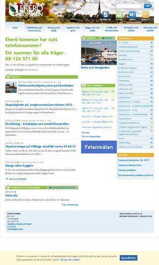 Mobile preview of ekero.se