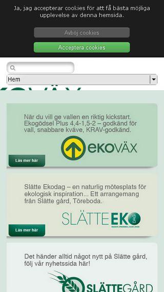 Mobile preview of ekogodsel.se