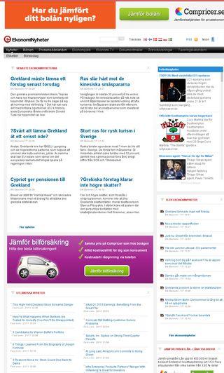 Mobile preview of privatbladet.se