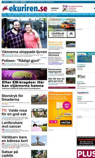 Mobile preview of ekuriren.se