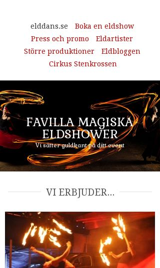 Mobile preview of elddans.se