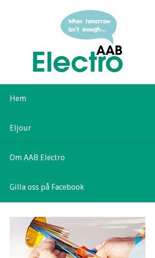 Mobile preview of elektrikerhelsingborg.nu