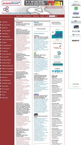 Mobile preview of elektronische-steuerpruefung.de