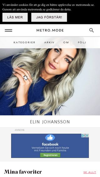 Mobile preview of elin.metromode.se