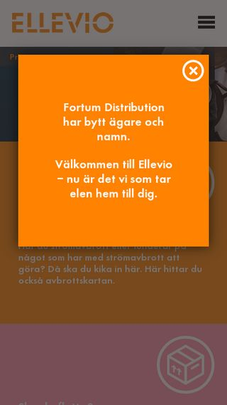 Mobile preview of ellevio.se