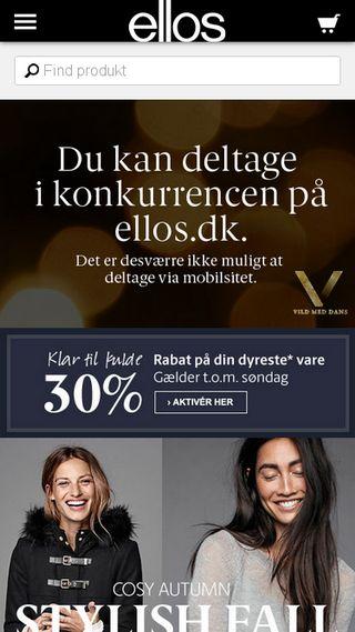 Mobile preview of ellos.dk