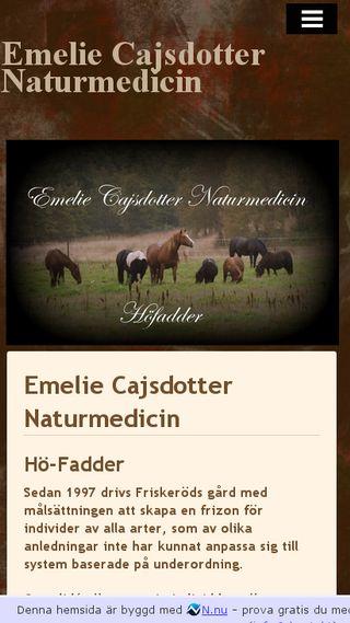 Mobile preview of emeliecajsdotternaturmedicin.n.nu
