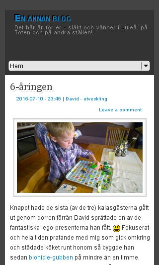 Mobile preview of enannanblog.se