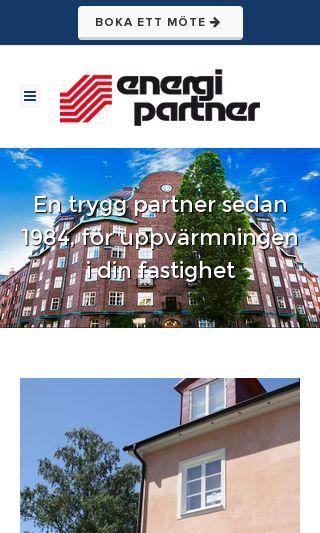 Mobile preview of energipartner.se