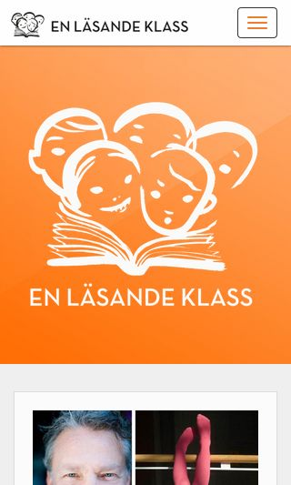 Mobile preview of enlasandeklass.se