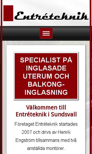 Mobile preview of entreteknik.se