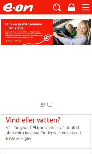 Mobile preview of eon.se