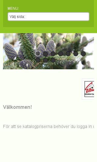 Mobile preview of essungaplantskola.se