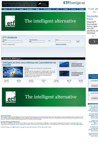 Mobile preview of etfsverige.se