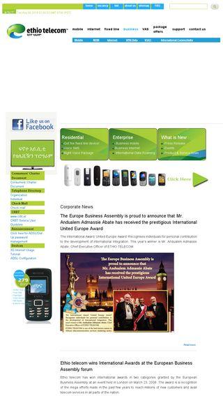 ethiotelecom et | Domainstats com