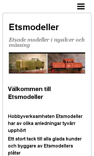 Mobile preview of etsmodeller.se
