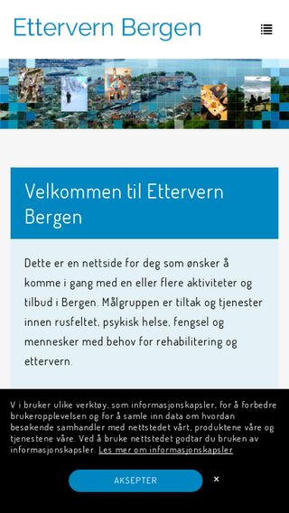 Mobile preview of ettervern.bergen.no