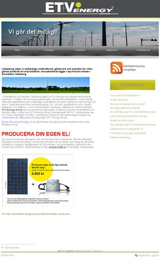 Mobile preview of etvenergy.se
