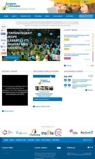 Mobile preview of eun.org