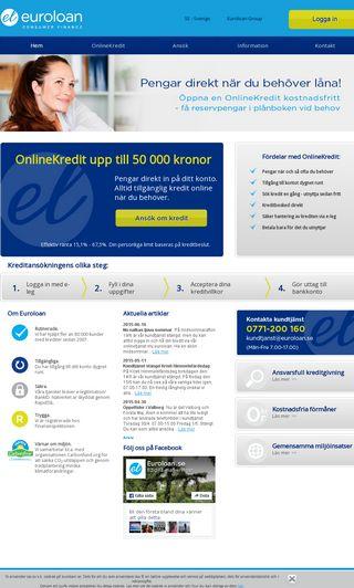 Mobile preview of euroloan.se
