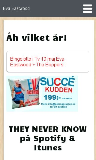 Mobile preview of evaeastwood.se