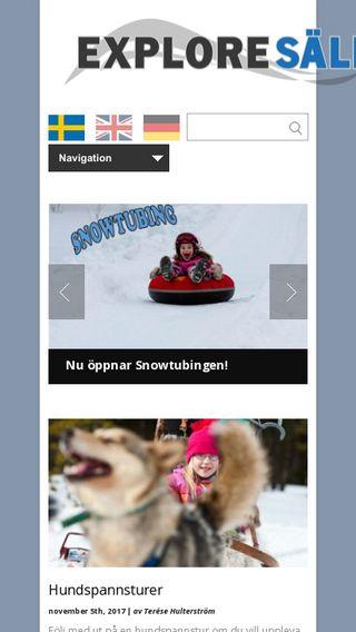 Mobile preview of exploresalen.se