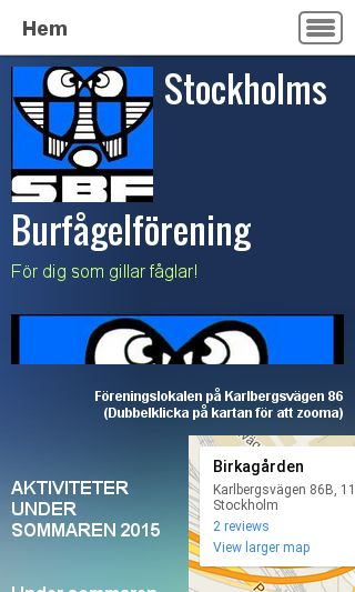 Mobile preview of fagelforening.se