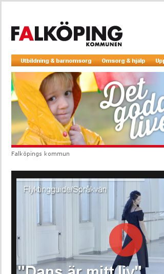 Mobile preview of falkoping.se