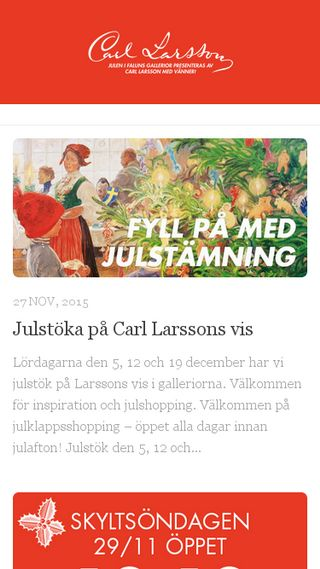 Mobile preview of falunsgallerior.se