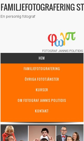 Mobile preview of familjefotograferingstockholm.se
