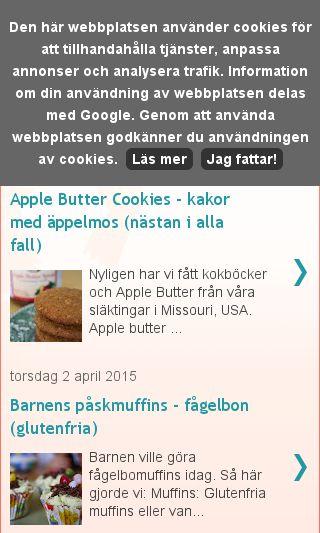 Mobile preview of familjenbaka.se
