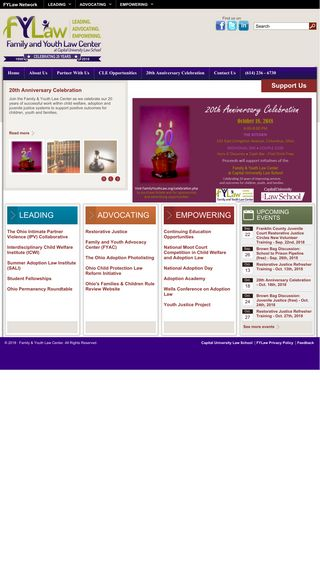 Mobile preview of familyyouthlaw.org