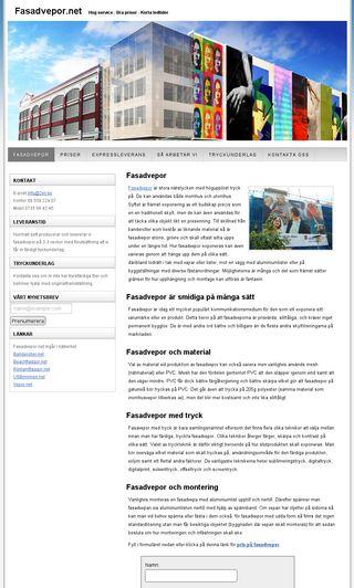 Mobile preview of fasadvepor.net