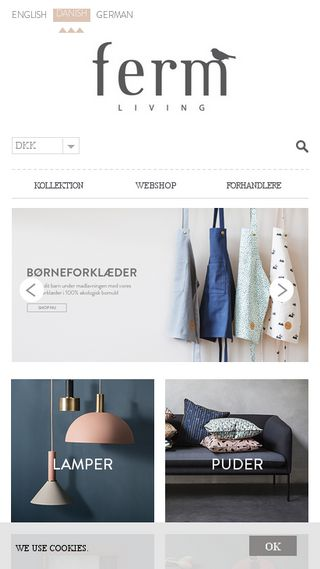 Mobile preview of fermliving.dk