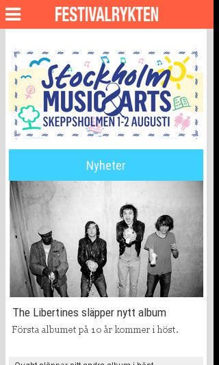 Mobile preview of festivalrykten.se