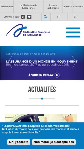 Mobile preview of ffa-assurance.fr