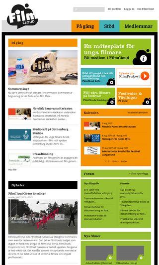 Mobile preview of filmcloud.se