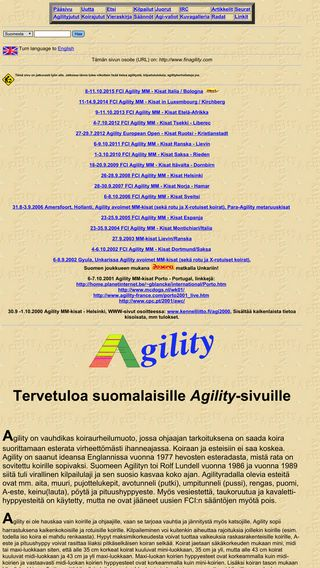 Mobile preview of finagility.com