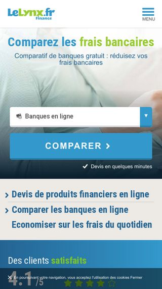 Mobile preview of finance.lelynx.fr