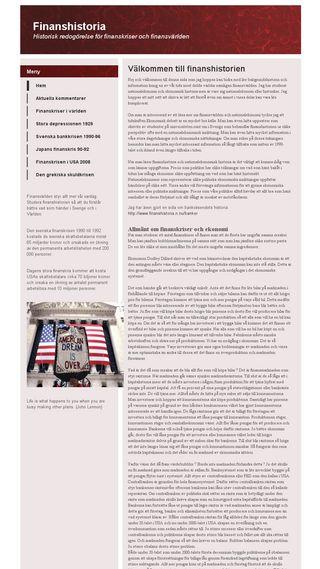 Mobile preview of finanshistoria.n.nu