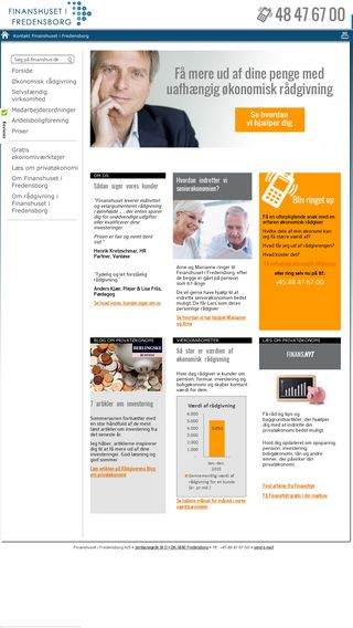 Mobile preview of finanshus.dk