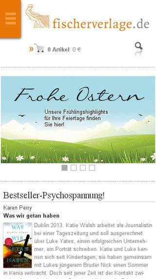 Mobile preview of fischerverlage.de